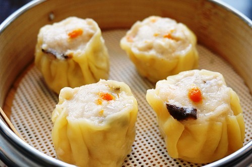 虾烧卖 Steamed Shrimp shumai