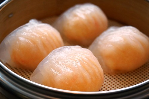 水晶虾饺 Steamed Shrimp dumpling