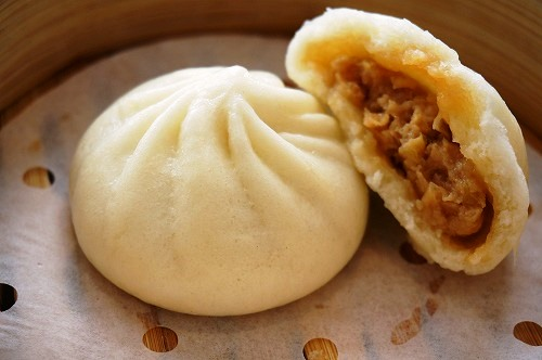 迷你肉包 Steamed  meat bun